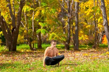 Yoga uth pluthi pose