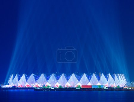 Photo pour Crystal Hall - Eurovision 2012 venue Baku Azerbaijan - image libre de droit