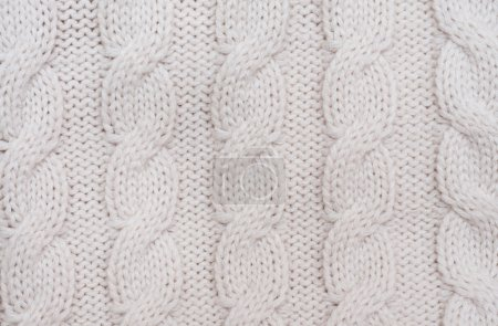 Photo for Knitted woolen background - Royalty Free Image