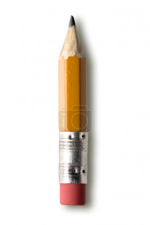 Photo for Pencil isolated against white background - Royalty Free Image