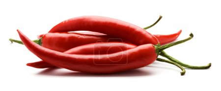 Photo for Close-up view of the red pepper isolated - Royalty Free Image