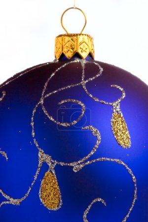 Photo pour Gros plan de la boule de Noël - image libre de droit