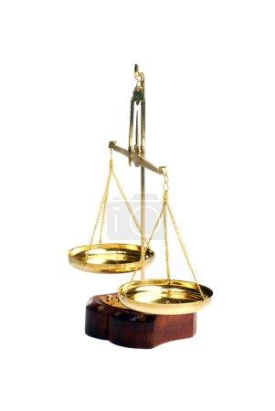 Photo pour Balance ancienne - image libre de droit