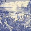 Slave Trade Scene on 500 Pesos 1990 Banknote from ...
