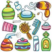 Vector health beauty and fashion supplies icons 2