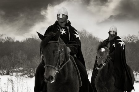 Medieval knights of St. John (Hospitallers)