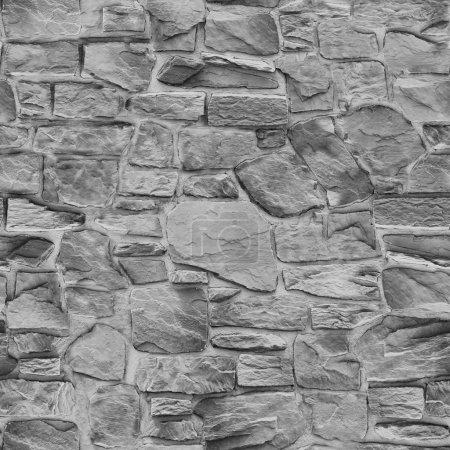 Photo pour Pierre sans couture. Texture de fond gris - image libre de droit