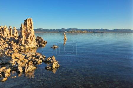 Lake stalagmites of the Tufa
