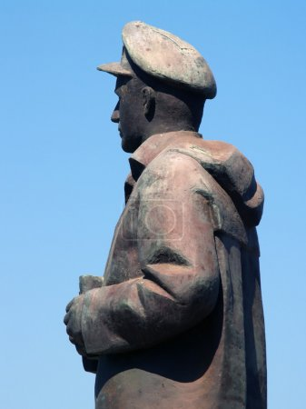 Seaman statue in Chios