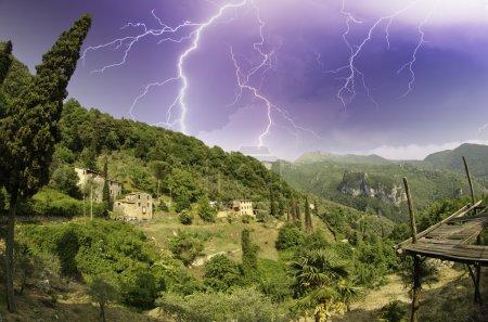 Photo pour Paysage de santa margherita ligure, Italie - image libre de droit
