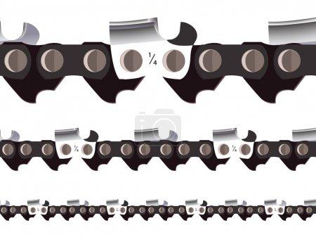 Chain saw seamless