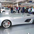 Постер, плакат: KIEV SEPTEMBER 11: Mercedes Benz SLR McLaren Stirling Moss at