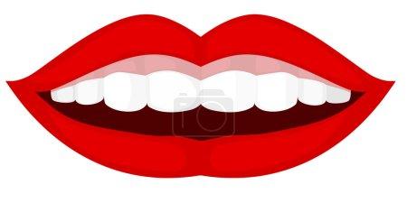 Illustration for Smile. EPS10 - Royalty Free Image