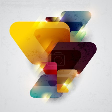 Illustration for Abstract colored background. - Royalty Free Image