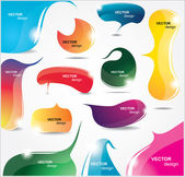 Collection of elements for web design