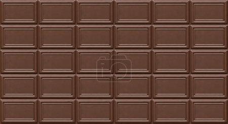 Photo for Chocolate seamless pattern texture. Tile - Royalty Free Image