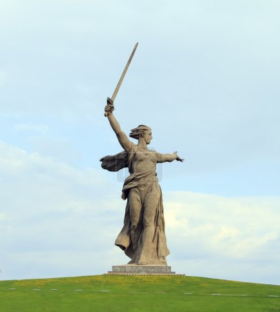 Monument The Motherland Calls in Volgograd