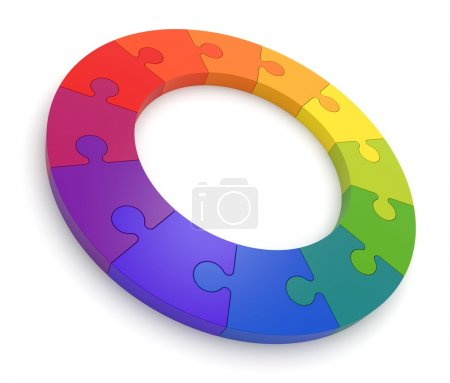 Photo for See my portfolio for more color wheels - Royalty Free Image