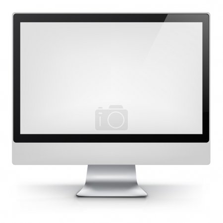 Computer. Vector EPS 10.