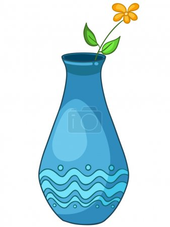 Cartoon Home Vase