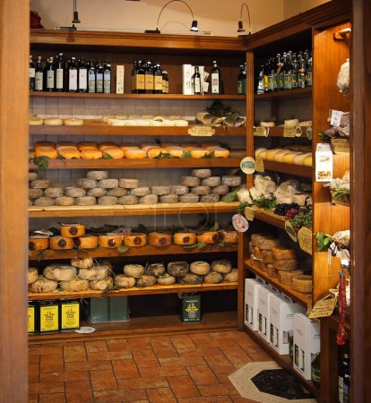 Typical Tuscan product store