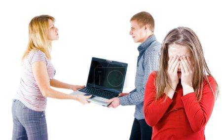 Quarrel in the family