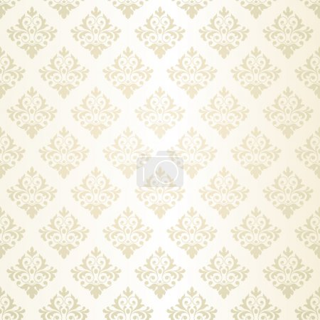 Illustration for Seamless retro wallpaper - Royalty Free Image