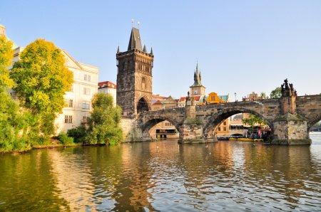 Photo pour Pont Charles à Prague - image libre de droit