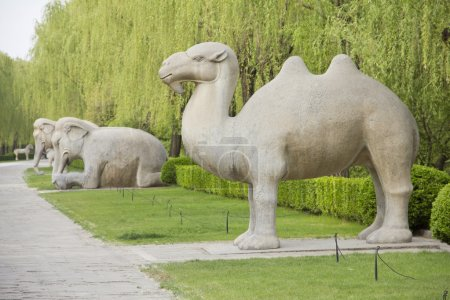 Avenue of the Animals, Beijing, China.