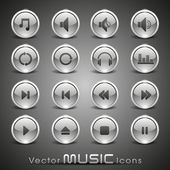 Vector music iconsfor more music products please visit Our port