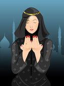 Young Muslim woman in hijab