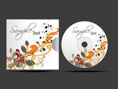 Vector cd cover design template with copy space Editable Vector Design