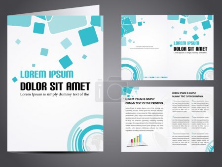 Vector illustration of catalog or a brochure design.