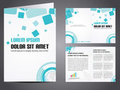 Vector illustration of catalog or a brochure design