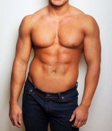 Imafe of sexy man torso