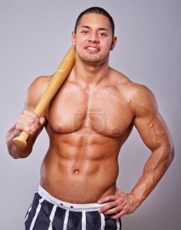 Image of baseball player