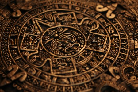 Photo for Ancient Mayan Calendar, pattern the - Royalty Free Image