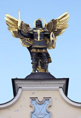 Archangel Michael statue, Kiev