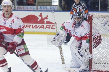 Alexander Borisov, goaltender