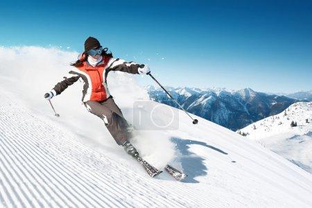 On the Ski
