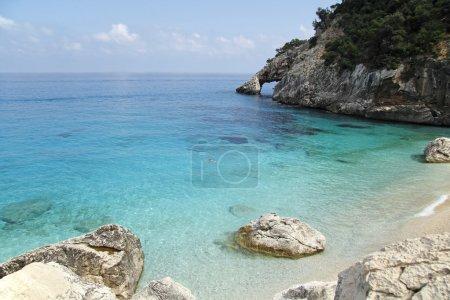 Seashore cala goloritze, Sardinia, Italy