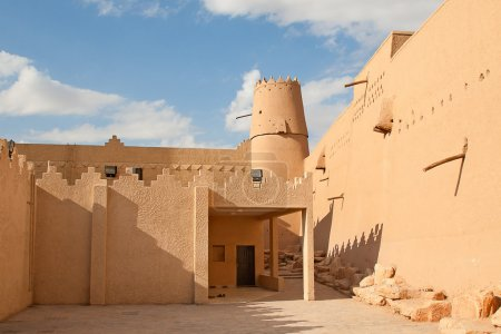 Photo for Al Masmak fort in the Riyadh city, Saudi Arabia - Royalty Free Image