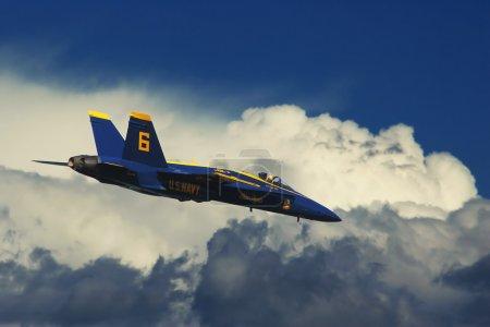 Photo pour Escadron de démonstration US Marine Corps - Blue Angels . - image libre de droit