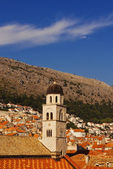 Dubrovnik Old City roofs and architecture