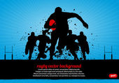 Rugby Poster abstract vector background eps10
