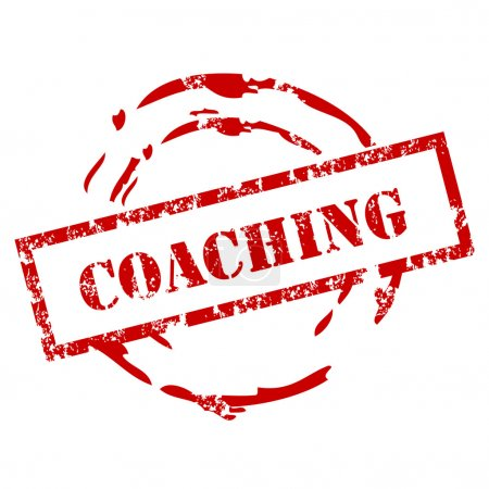 Coaching rubber stamp
