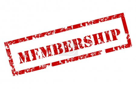 Membership rubber stamp