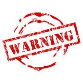 Grunge Warning Stamp