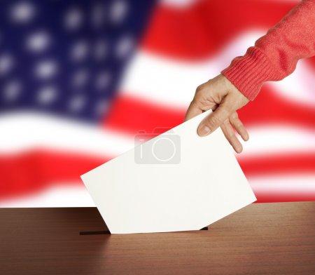 Vote sur le drapeau des États-Unis