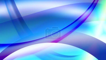 Photo pour Fond de carte de visite couleur abstrait vague - image libre de droit